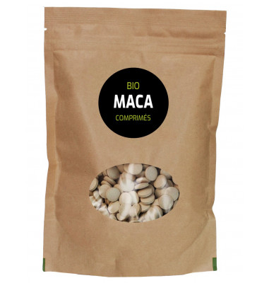 Maca Jaune Bio 500 comprimés - Extrait 4:1