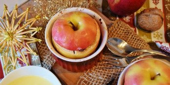 Recette : pommes au four au Goji