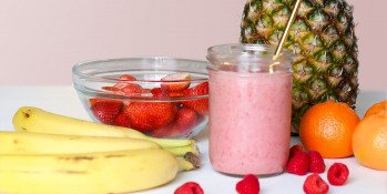 Recette : Smoothie Maca Framboise Banane